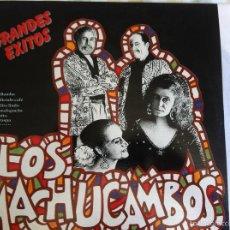 Discos de vinilo: LP LOS MACHUCAMBOS-GRANDES ÉXITOS. Lote 57164922
