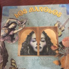 Discos de vinilo: LOS MANOLOS-PASION CONDAL-1991-NUEVO. Lote 57165912
