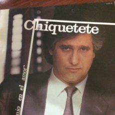 Discos de vinilo: CHIQUETETE-BOHEMIO EN EL AMOR-1986-NUEVO!!. Lote 57166020