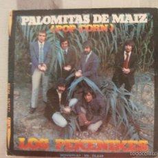 Discos de vinilo: PEKENIKES - PALOMITAS DE MAIZ (SG) 1972. Lote 57166263