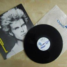 Discos de vinilo: BILLY IDOL - DON'T STOP - EP DEBUT VINILO ORIGINAL PRIMERA EDICION 1981 CHRYSALIS RECORDS USA. Lote 57167350
