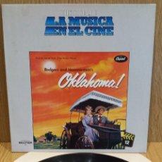 Discos de vinilo: B.S.O. !! OKLAHOMA. HISTORIA DE LA MÚSICA EN EL CINE. Nº 12 / MBC. ***/***. Lote 57176520