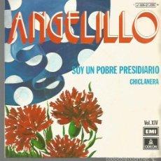 Discos de vinilo: ANGELILLO SINGLE SELLO EMI-ODEON EDITADO EN IESPAÑA AÑO 1974. Lote 57177727