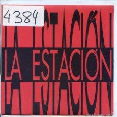 Discos de vinilo: LA ESTACION / MI BUENA AFICION / UNA VEZ MAS / EL CAFE DEL SOLITARIO / LA CASA (EP 1993). Lote 57179519