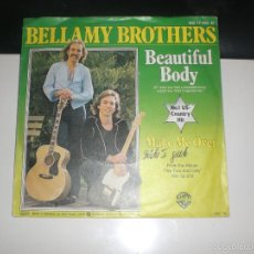 Discos de vinilo: BELLAMY BROTHERS - BEAUTIFUL BODY - WB GERMANY 1979. Lote 57182291