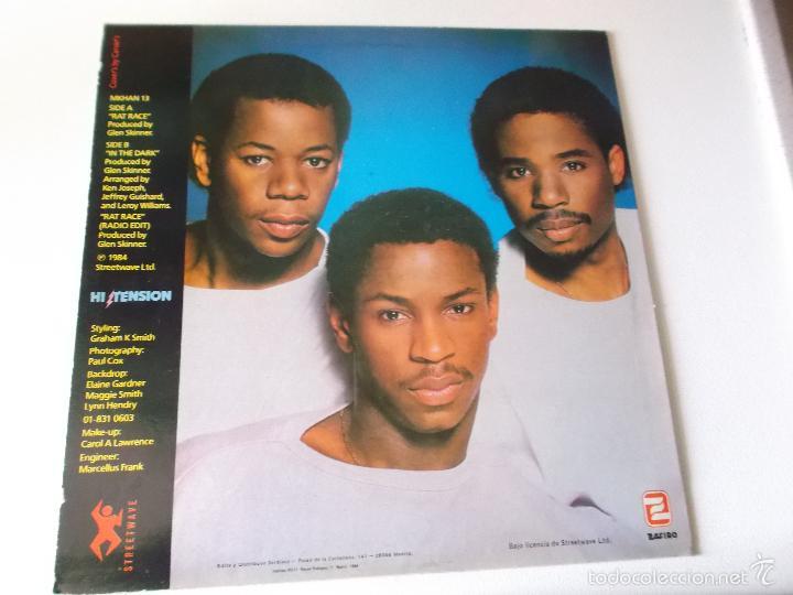 Discos de vinilo: HI TENSION - RAT RACE - 1984 ZAFIRO - Foto 2 - 57182953