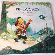 Discos de vinilo: PINOCCHIO - D´APRES COLLODI ORCHESTRE JEAN MICHEL DEFAYE - 10 PULGADAS - PHILIPS FRANCE 1963. Lote 57183359