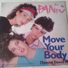Discos de vinilo: PANIC - MOVE YOUR BODY - 1983. Lote 57184965