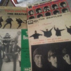 Discos de vinilo: 5 DISCOS EP DE 4 CANCIONES ORIGINALES THE BEATLES DE 1963 EN VINILO BUEN ESTADO. Lote 57185652