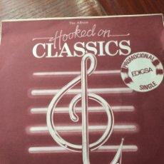 Discos de vinilo: LOUIS CLARK-HOOKED ON CLASSICS-PROMO NUEVO. Lote 57187354