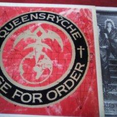 Discos de vinilo: QUEENSRYCHE RAGE FOR ORDEN (DREAM THEATER. Lote 57189656