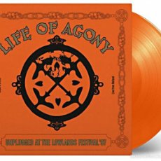 Discos de vinilo: LIFE OF AGONY - UNPLUGGED AT LOWLANDS 97 LTD. VINILO NARANJA 180G LP PRECINTADO. Lote 57191737
