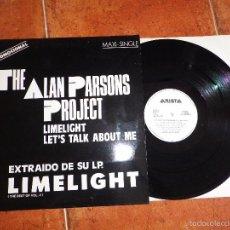 Discos de vinilo: THE ALAN PARSONS PROJECT LIMELIGHT MAXI SINGLE PROMO ESPAÑOL DEL AÑO 1987 CONTIENE 4 TEMAS. Lote 57192603