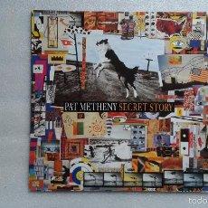 Discos de vinilo: PAT METHENY - SECRET STORY DOBLE LP 1992 EDICION ALEMANA. Lote 57193032