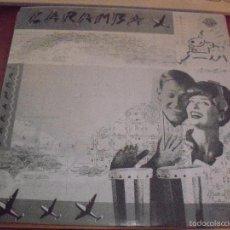 Discos de vinilo: SINGLE DE CARAMBA, ISLA DESIERTA, BEREBERES. EDICION DIVUCSA DE 1989. RARO Y COMO NUEVO.. Lote 57195194