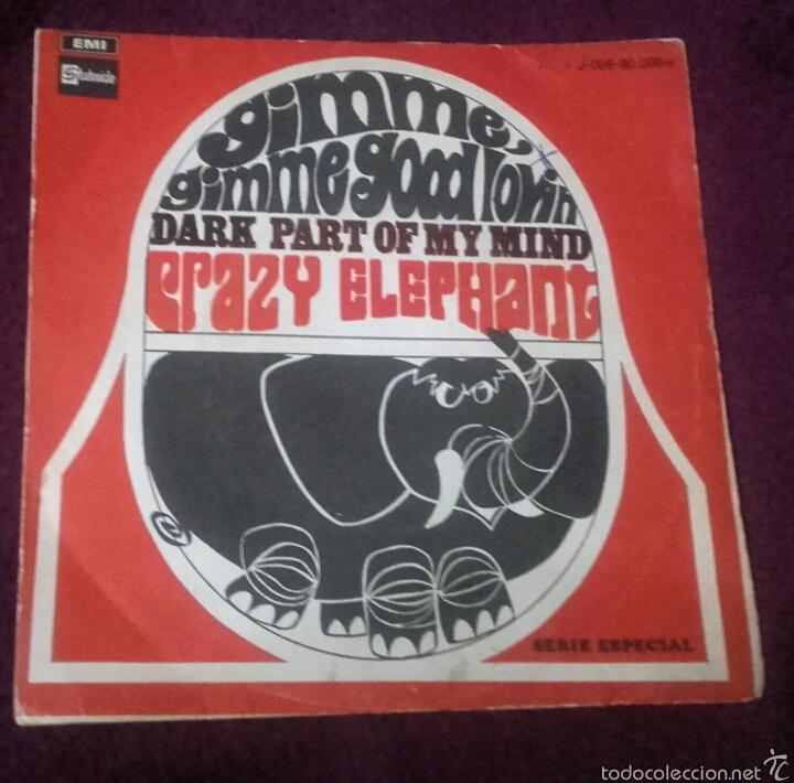 VINILO CRAZY ELEPHANT (Música - Discos - Singles Vinilo - Rock & Roll)