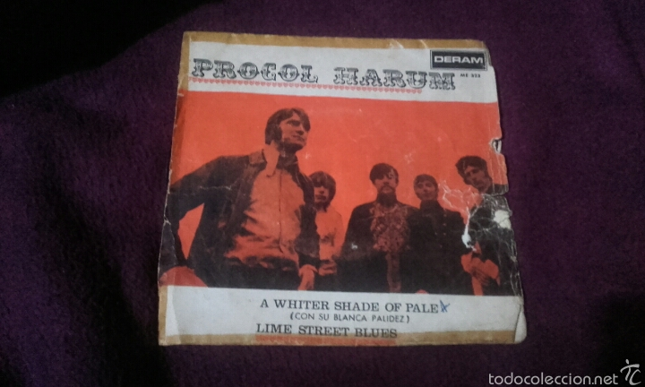 VINILO PROCOL HARUM (Música - Discos - Singles Vinilo - Rock & Roll)