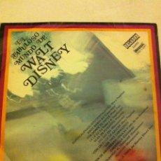 Discos de vinilo: EL FABULOSO MUNDO DE WALT DISNEY (DISCO 23 CM-). Lote 57200834