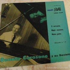 Discos de vinilo: RENATO CAROSONE - O SARRACINO - EP 1958. Lote 57206326