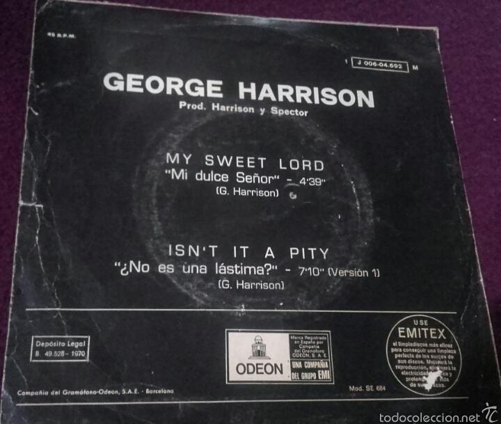 Discos de vinilo: Vinilo George Harrison - Foto 2 - 57206647