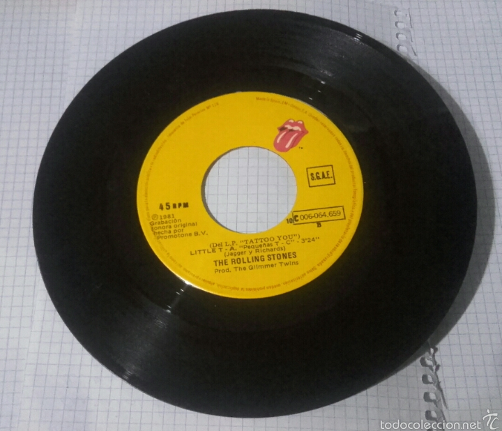 THE ROLLING STONES (Música - Discos - Singles Vinilo - Rock & Roll)