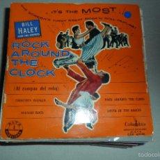Discos de vinilo: BILL HALEY - ROCK AROUND THE CLOCK - THIRTEEN WOMEN + 3 EP. Lote 57208022