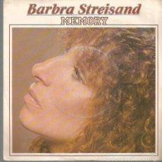Discos de vinilo: BARBRA STREISAND SINGLE SELLO CBS AÑO 1981 EDITADO EN FRANCIA. Lote 57216277