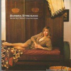 Discos de vinilo: BARBRA STREISAND SINGLE SELLO CBS AÑO 1989 EDITADO EN HOLANDA. Lote 57216329