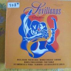 Discos de vinilo: LP - SEVILLANAS DE CARLOS SAURA - VARIOS (SPAIN, POLYDOR 1992). Lote 57217104