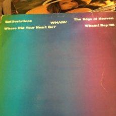 Discos de vinilo: WHAM!-BATTLESTATIONS-CON ENCARTE-1986. Lote 57219333