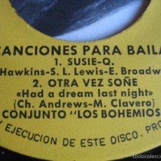 Discos de vinilo: LOS BOHEMIOS EP FUNDADOR 1967 LA FELICIDAD/ TA TA TA TA/ SUSIE Q/ OTRA VEZ SOÑE GARAGE NUGGETS . Lote 57219777