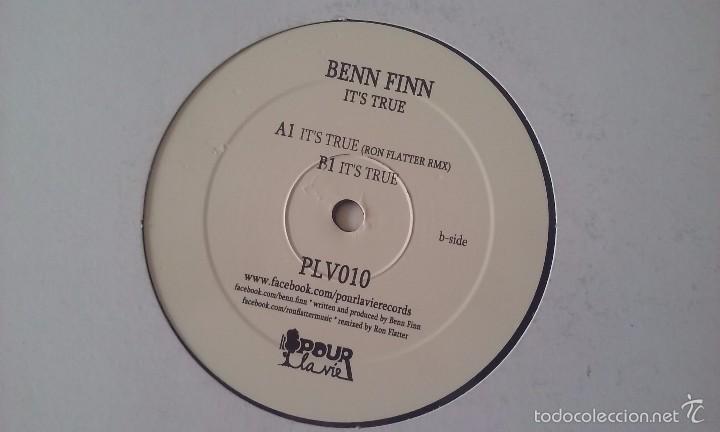 BENN FINN - IT'S TRUE - 2012 (Música - Discos de Vinilo - Maxi Singles - Techno, Trance y House)