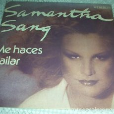 Dischi in vinile: SAMANTHA SANG – YOU KEEP ME DANCING (ME HACES BAILAR) - SINGLE 1978. Lote 57229567