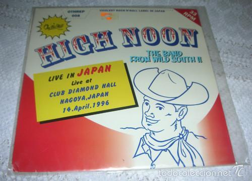 HIGH NOON – LIVE IN JAPAN EP 1997 - ROCK ROCKABILLY (Música - Discos de Vinilo - EPs - Pop - Rock Internacional de los 90 a la actualidad)