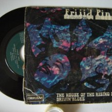 Disques de vinyle: FRIJID PINK - THE HOUSE OF THE RISING SUN - SINGLES 45 RPM 1970. Lote 57229677