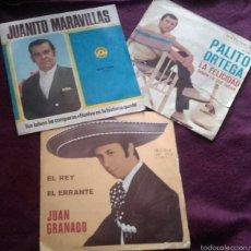 Discos de vinilo: VINILOS JUANITO MARAVILLAS,PALITO ORTEGA, JUAN GRANADO.. Lote 57155342
