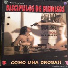 Discos de vinilo: DISCO LP VINILO DISCIPULOS DE DIONISOS COMO UNA DROGA!! PUNK ROCK . Lote 57233668