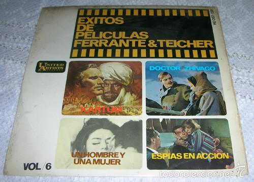 EXITOS DE PELICULAS - FERRANTE & TEICHER - EP 1966 (Música - Discos de Vinilo - EPs - Bandas Sonoras y Actores)