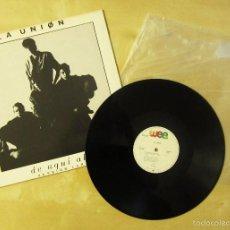Discos de vinilo: LA UNION - DE AQUI ALLA (VERSION LARGA) - MAXI VINILO ORIGINAL 1987 EDICION WEA RECORDS. Lote 57236476
