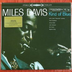 Discos de vinilo: MILES DAVIS - KIND OF BLUE 180G 2LP AUDIÓFILO MUSIC ON VINYL NUEVO Y PRECINTADO. Lote 132558767