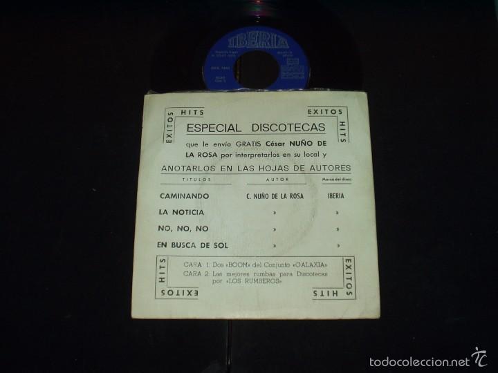 GALAXIA EP LA NOTICIA+3 LATIN POP ROCK RUMBA MUY RARO (Música - Discos de Vinilo - EPs - Grupos Españoles de los 70 y 80)