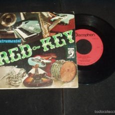 Discos de vinilo: RED KEY SINGLE SALTAMONTES EASY LISTENING, INSTRUMENTAL. Lote 57238899