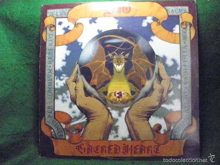 DIO - SACRED HEARD - LP - MADE IN BRITAIN 1985 (Música - Discos - LP Vinilo - Heavy - Metal)