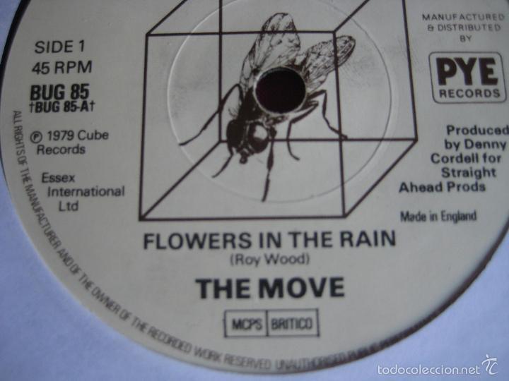 Discos de vinilo: THE MOVE Sg CUBE RECORDS / PYE flowers in the rain/ blackberry way MOD ART POP BEAT - Foto 2 - 57240558
