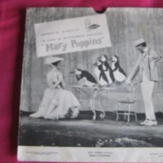 Discos de vinilo: MARY POPPINS SG FLEXI VINILO NEGRO - OBSEQUIO MUÑECAS FAMOSA - PUBLICIDAD. Lote 57240670