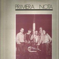 Discos de vinilo: LP PRIMERA NOTA : SANT RORRO + 10 ( JORDI FABREGAS ) . Lote 57244754