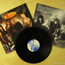 Discos de vinilo: VIXEN - REV IT UP - ALBUM VINILO ORIGINAL 1990 EDICION EMI USA / HISPAVOX ESPAÑA. Lote 57252089