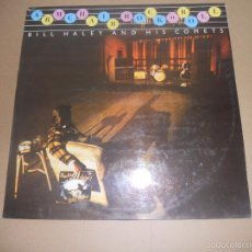 Discos de vinilo: BILL HALLEY AND HIS COMETS (LP) ARMCHAIR ROCK'N'ROLL AÑO 1978. Lote 57252442