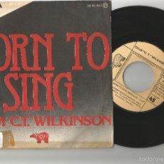 Discos de vinilo: COLM C.T WILKINSON: BORN TO SING + SIMPLE THINGS IN LIFE, IRLANDA 1978. Lote 57253419
