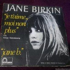 Discos de vinilo: VINILO JANE BIRKIN. Lote 57253887